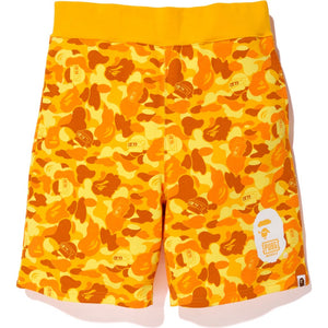 bape x PUBG sweat shorts (orange)
