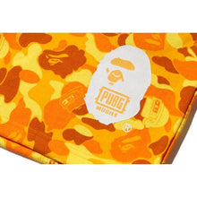 Load image into Gallery viewer, bape x PUBG sweat shorts (orange)