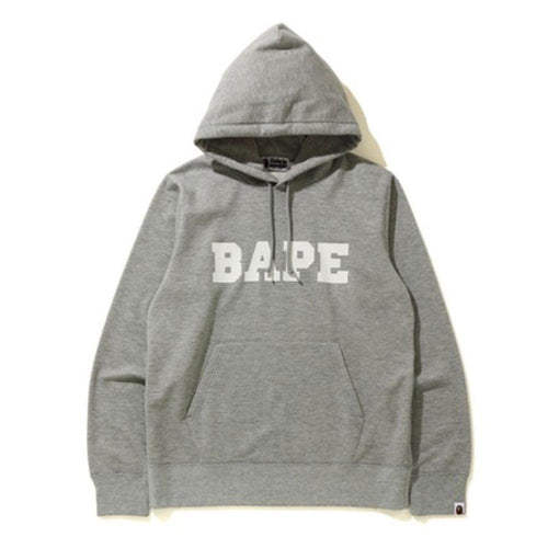 bape summer 20 hoodie (heather grey)