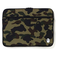 "Load image into Gallery viewer, bape 1st camo pc case 15"" (green)"
