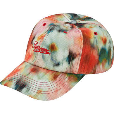 supreme liberty floral 6-panel (red)