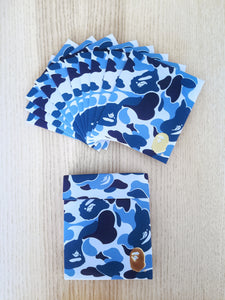 bape abc 1st camo lucky envelope (set of 10 - blue)