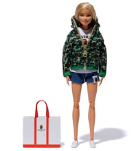 Load image into Gallery viewer, bape barbie (green)