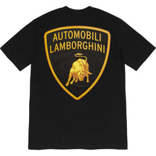 Load image into Gallery viewer, supreme x lamborghini tee (black)