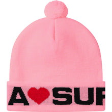 Load image into Gallery viewer, love supreme beanie (lt pink)