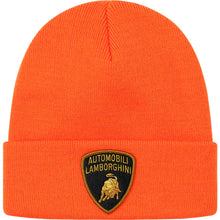 Load image into Gallery viewer, supreme x lamborghini beanie (orange)
