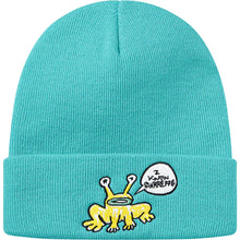 Load image into Gallery viewer, supreme x daniel johnston beanie (turquoise)