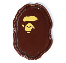 Load image into Gallery viewer, bape apehead ashtray (brown)