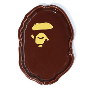 bape apehead ashtray (brown)