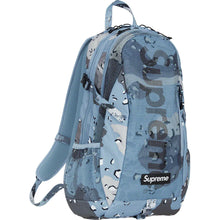 Load image into Gallery viewer, Supreme Backpack Blue Choco Chip Camo (SS20)