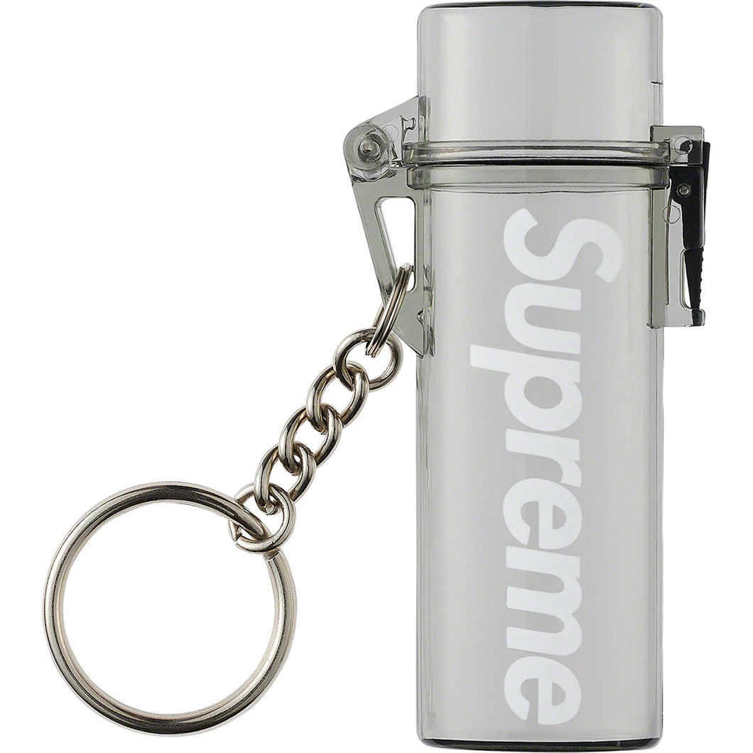Supreme Waterproof Lighter Case Keychain (smoke)