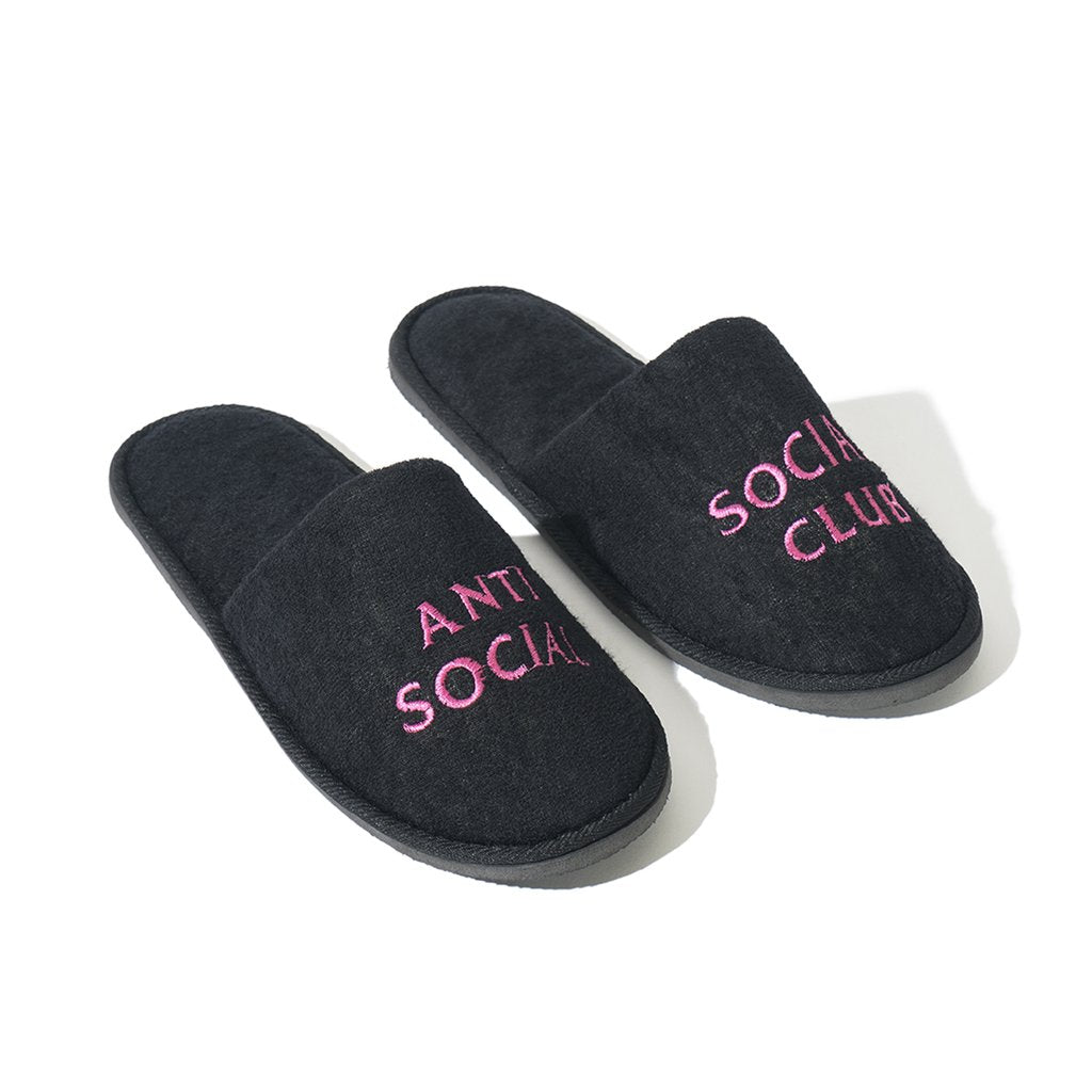 anti social social club no shoes (blk)