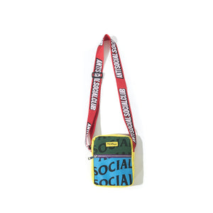 anti social social club no plastic sidebag (multi-color)