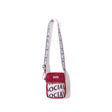 Load image into Gallery viewer, anti social social club no plastic side bag (pink)