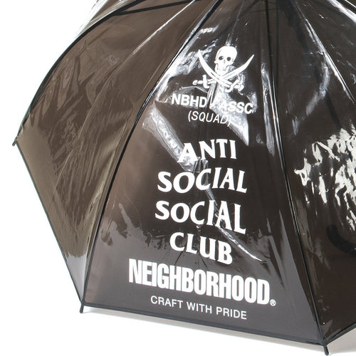 anti social social club x neighborhood umbrella