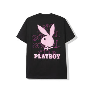 anti social social club playboy tee (blk)