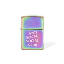 Load image into Gallery viewer, anti social social club allergic zippo lighter