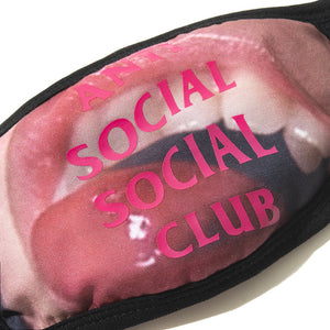 anti social social club 'open wide' facemask