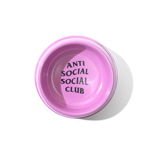 anti social social club slurpin dog bowl