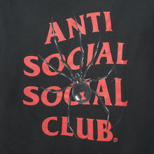 Load image into Gallery viewer, anti social social club bitter tee (blk)