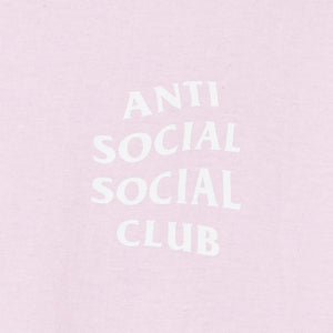 anti social social club 'pair of dice' tee (pink)
