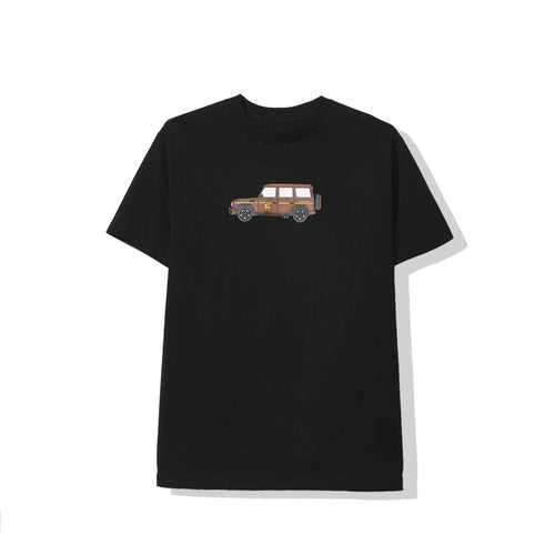 anti social social club brownie tee (blk)
