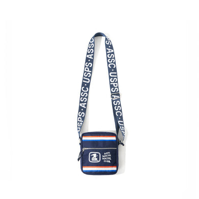 anti social social club x usps work sidebag
