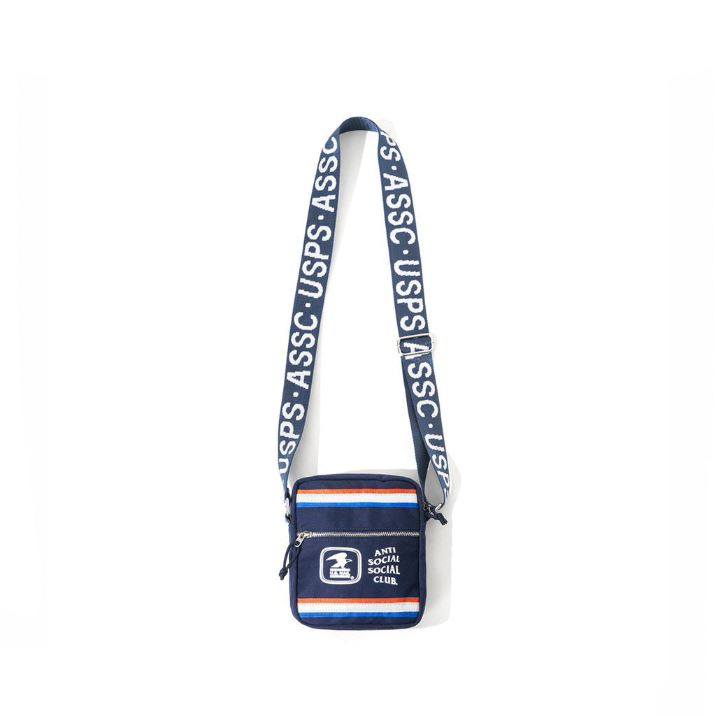 anti social social club x usps work side bag
