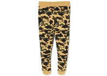 Load image into Gallery viewer, bape 1st camo slim quilting pants (yellow)