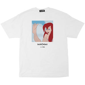 skim milk 'come as you are' tee (wht)