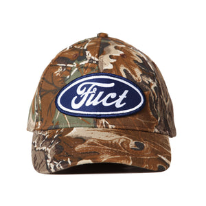 fuct oval parody camp cap (tree camo)