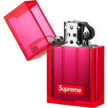 Load image into Gallery viewer, supreme x tsubota pearl hard edge lighter (neon pink)