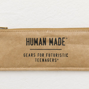 human made pen case (beige)