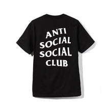 Load image into Gallery viewer, anti social social club logo tee 2 (blk)