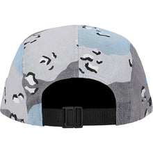 Load image into Gallery viewer, Supreme  Military Camp Cap (Blue Choco Chip Camo) SS20