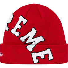 Load image into Gallery viewer, supreme x new era big arc beanie (red)