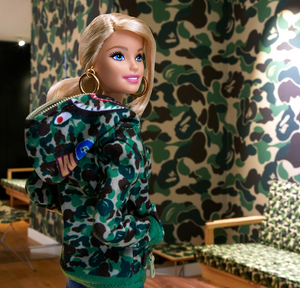 bape barbie (green)