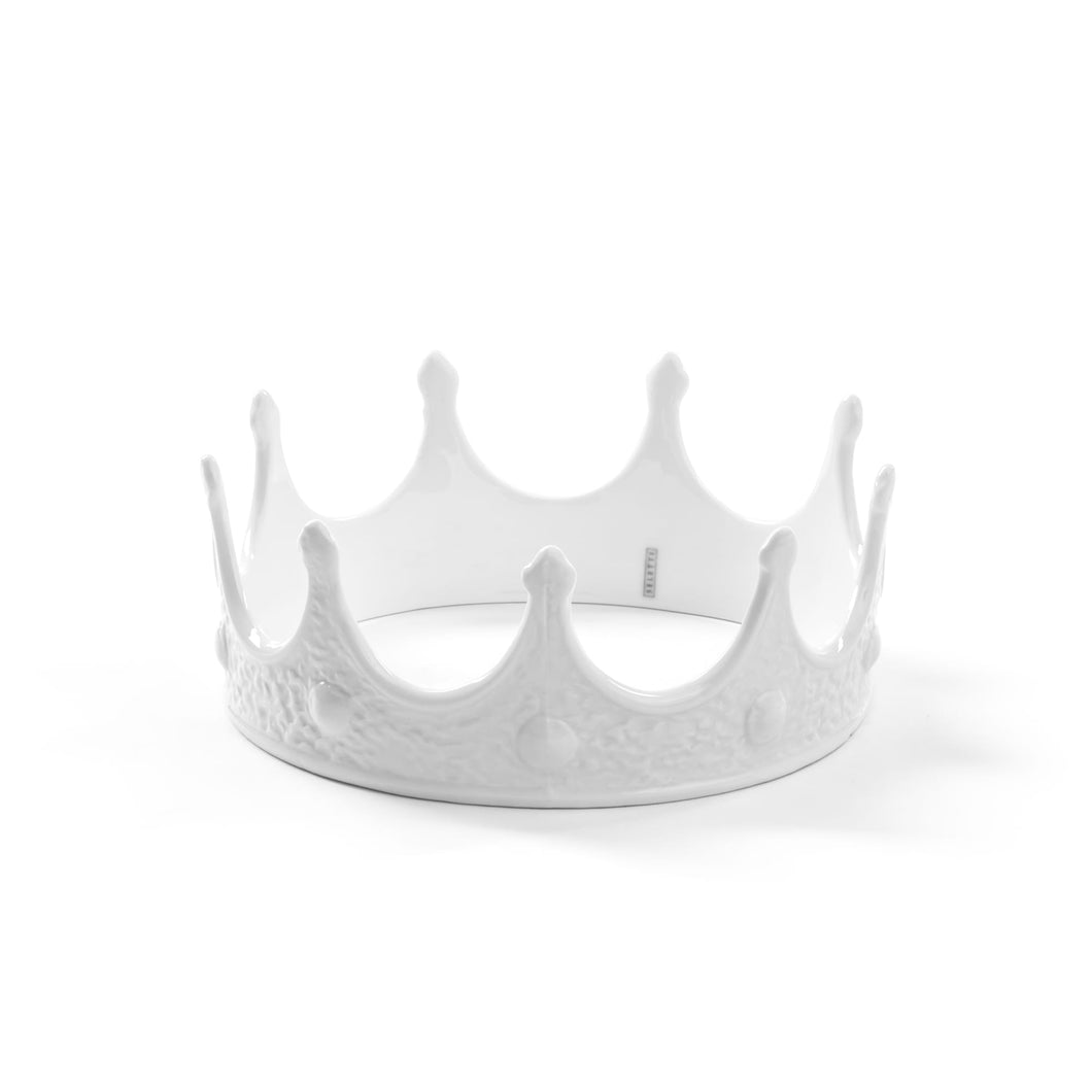 seletti porcelain crown (white)