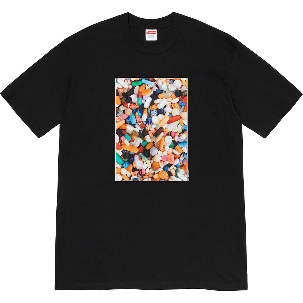 supreme pills tee (blk)