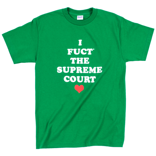 fuct supreme court tee (kelly green)