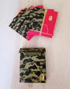 bape chinese new year lucky envelope (set of 10 - green)