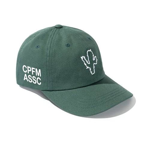 anti social social club x CPFM cap (green)