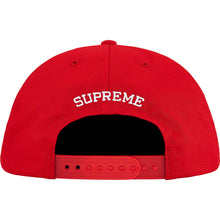 Load image into Gallery viewer, supreme 5-panel mary cap (red)