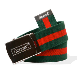 fuct webbed tactical belt (red/green)