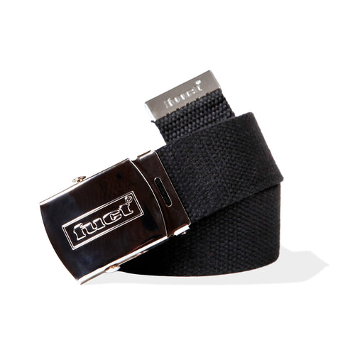 fuct webbed tactical belt (blk)