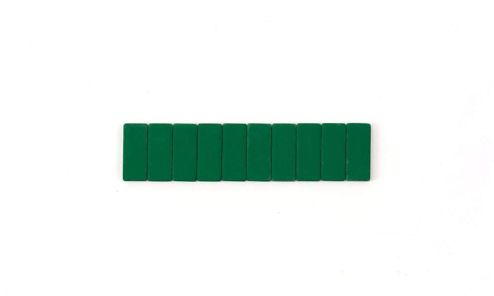 blackwing replacement erasers (green)