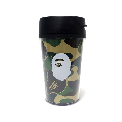 bape 1st camo short tumbler (yellow)
