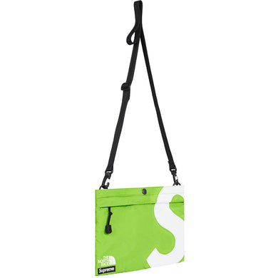 Supreme/The North Face S Logo Shoulder Bag (lime)