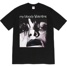 Load image into Gallery viewer, supreme x my bloody valentine  'feed me with your kiss' tee (blk)