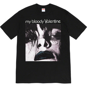 supreme x my bloody valentine  'feed me with your kiss' tee (blk)